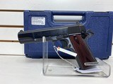 Used Colt Goverment Model 38 38 Super with case and extra mag good condition