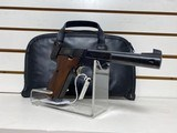 Used High Standard 22LR good condition with leather soft case - 8 of 9