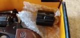 Used Ruger Single Six Combo with 22 and 22 Mag cylinders originalbox and book good condition - 3 of 14