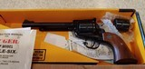 Used Ruger Single Six Combo with 22 and 22 Mag cylinders originalbox and book good condition - 4 of 14