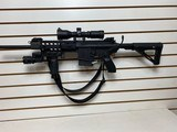 Used Sig Sauer716 7.62 NATO fixed stock, handgrip, handgrip flashlight, canvas strap, scope very nice item