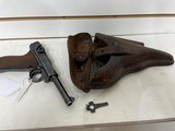 Used Luger Mauser S42 9mm 1940 numbers matching Nazi proofed with leather holster