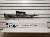 """Used Ruger American Ranch 300 blackout 5 round magazine 17"""" barrel factory scope with lens covers with original box - 5 of 18"""