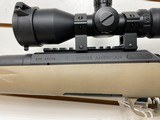 """Used Ruger American Ranch 300 blackout 5 round magazine 17"""" barrel factory scope with lens covers with original box - 14 of 18"""
