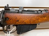 """Used Savage Enfield #4 303 cal25"""" barrel not marked U.S. Property no import stamps All correct good condition - 13 of 22"""
