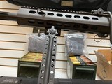 Used Barrett 82A1 50BMG 29 inch fluted barrel, 4 magazines, soft case, hardcase, scope and between 400-450 rounds of ammunition very good condition - 9 of 20