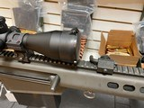 Used Barrett 82A1 50BMG 29 inch fluted barrel, 4 magazines, soft case, hardcase, scope and between 400-450 rounds of ammunition very good condition - 11 of 20