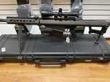 Used Barrett 82A1 50BMG 29 inch fluted barrel, 4 magazines, soft case, hardcase, scope and between 400-450 rounds of ammunition very good condition - 12 of 20