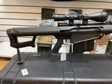 Used Barrett 82A1 50BMG 29 inch fluted barrel, 4 magazines, soft case, hardcase, scope and between 400-450 rounds of ammunition very good condition - 6 of 20