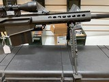 Used Barrett 82A1 50BMG 29 inch fluted barrel, 4 magazines, soft case, hardcase, scope and between 400-450 rounds of ammunition very good condition - 4 of 20