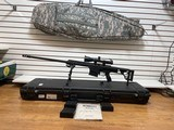 Slightly Used Barrett 98B 338 Lapua, 4 magazines,