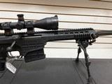 Slightly Used Barrett 98B 338 Lapua, 4 magazines,27 inch flutted barrel, leupold scope, bi-pod,hardcase, softcase, manuals very good condition - 6 of 22