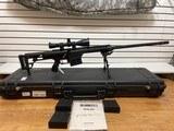 Slightly Used Barrett 98B 338 Lapua, 4 magazines,27 inch flutted barrel, leupold scope, bi-pod,hardcase, softcase, manuals very good condition - 4 of 22