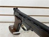 "Slightly used High Standard The Victor 22LR 4 1/2"" barrel custom grip very good condition - 2 of 8"