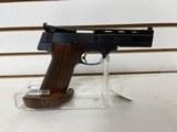 "Slightly used High Standard The Victor 22LR 4 1/2"" barrel custom grip very good condition - 7 of 8"