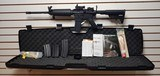 """Used Stag Arms Stag15 Left Side Ejector 16"""" barrel sightmark sight adjustable stock 4 magazines hard case manuals dart mag holder good condition"""
