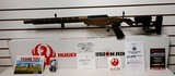 """New Ruger Precision Rifle Bronze and Black 18"""" barrel 22LR lock manual new in box"""