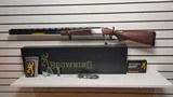 "New Browning Cynergy 12 Gauge 30"" barrel3 gnarled choke 1 mod 1 full 1 imp mod choke wrench tools lock manualcase 3 instock"