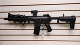 """Used PWS MK1 Pro .223 only 11"""" barrel 1 magazine adjustable stock , arm brace, holo sun HS503G-ACSS scope, flip up rear sight reduced was $3495"""