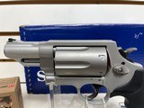New Smith & Wesson Governor 45/.410 Silver W/Free box of Hornady Critical 45LC 185GR Ammo - 2 of 14