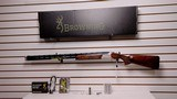 """New Browning 725 Sport 12 gauge 32"""" barrel Left Handed5 chokeslock spare triggers sight & holder lock manual new in box"""