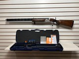 """Lightly used Beretta 691 vittori12 gauge 30"""" barrel 5 chokes choke wrench lube manual luggage case only fired 300 shells very good condition"""