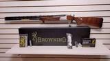 "New Browning CXS White 12 gauge 30"" barrel3 chokes full mod IC manual choke wrench lock new in box"