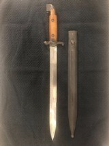 Cutlass Army WWI M1914 Swedish Army EJAB bayonet - 1 of 8