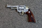 Smith & Wesson Model 66-1 Engraved Revolver by Gary Richards of GR Engraving