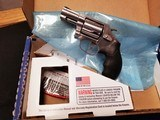 SMITH & WESSON MODEL 60 NIB 38, 38+p 357 MAGNUM WORK OF ART