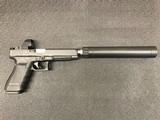 glock, g41 mos w/aac suppressor, .45 acp