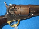 A U.S. CIVIL WAR MILITARY ISSUED COLT MODEL 1860 PERCUSSION ARMY REVOLVER IN FINE UNTOUCHED CONDITION! - 7 of 13