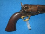A U.S. CIVIL WAR MILITARY ISSUED COLT MODEL 1860 PERCUSSION ARMY REVOLVER IN FINE UNTOUCHED CONDITION! - 6 of 13