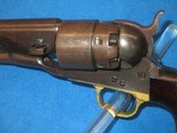 A U.S. CIVIL WAR MILITARY ISSUED COLT MODEL 1860 PERCUSSION ARMY REVOLVER IN FINE UNTOUCHED CONDITION! - 3 of 13