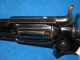 AN EARLY & SCARCE CIVIL WAR PERCUSSION COLT MODEL 1855 NO. 3A ROOT REVOLVER WITH DELUXE FACTORY GRIPS IN EXCELLENT PLUS CONDITION! - 14 of 14