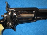AN EARLY & SCARCE CIVIL WAR PERCUSSION COLT MODEL 1855 NO. 3A ROOT REVOLVER WITH DELUXE FACTORY GRIPS IN EXCELLENT PLUS CONDITION! - 6 of 14