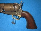 AN EARLY U.S. CIVIL WAR MILITARY ISSUED COLT PERCUSSION MODEL 1860 FOUR SCREW ARMY REVOLVER IN NICE CONDITION! - 2 of 17