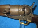 AN EARLY U.S. CIVIL WAR MILITARY ISSUED COLT PERCUSSION MODEL 1860 FOUR SCREW ARMY REVOLVER IN NICE CONDITION! - 3 of 17