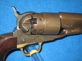AN EARLY U.S. CIVIL WAR MILITARY ISSUED COLT PERCUSSION MODEL 1860 FOUR SCREW ARMY REVOLVER IN NICE CONDITION! - 9 of 17