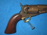 AN EARLY U.S. CIVIL WAR MILITARY ISSUED COLT PERCUSSION MODEL 1860 FOUR SCREW ARMY REVOLVER IN NICE CONDITION! - 7 of 17