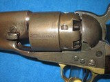 AN EARLY U.S. CIVIL WAR MILITARY ISSUED COLT PERCUSSION MODEL 1860 FOUR SCREW ARMY REVOLVER IN NICE CONDITION! - 17 of 17