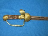 AN EARLY 1800'S GERMAN MADE PERCUSSION LION HEAD POMMEL SWORD PISTOL IN VERY NICE UNTOUCHED CONDITION! - 2 of 13