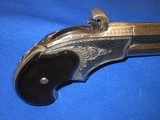 AN EARLY 1870'S TO 1880'S ENGRAVED REMINGTON RIDER MAGAZINE PISTOL IN EXCELLENT CONDITION! - 5 of 11