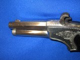 AN EARLY 1870'S TO 1880'S ENGRAVED REMINGTON RIDER MAGAZINE PISTOL IN EXCELLENT CONDITION! - 3 of 11