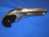 AN EARLY 1870'S TO 1880'S ENGRAVED REMINGTON RIDER MAGAZINE PISTOL IN EXCELLENT CONDITION! - 4 of 11