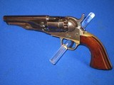 AN EARLY CIVIL WAR COLT MODEL 1862 PERCUSSION POLICE REVOLVER IN EXCELLENT UNTOUCHED CONDITION! - 1 of 14