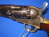 AN EARLY CIVIL WAR COLT MODEL 1862 PERCUSSION POLICE REVOLVER IN EXCELLENT UNTOUCHED CONDITION! - 3 of 14
