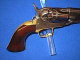 AN EARLY CIVIL WAR COLT MODEL 1862 PERCUSSION POLICE REVOLVER IN EXCELLENT UNTOUCHED CONDITION! - 6 of 14