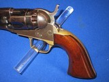 AN EARLY CIVIL WAR COLT MODEL 1862 PERCUSSION POLICE REVOLVER IN EXCELLENT UNTOUCHED CONDITION! - 2 of 14