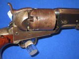 A VERY EARLY AND DESIRABLE CIVIL WAR PERCUSSION COLTMODEL 1851 NAVY REVOLVER IN EXCELLENT CONDITION AND MADE IN 1852! - 7 of 17